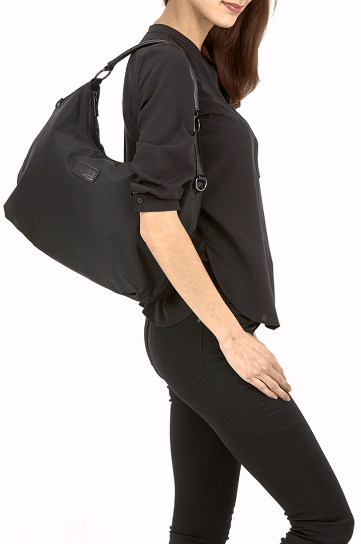 Lady Plume Bolso hobo M Black | 3