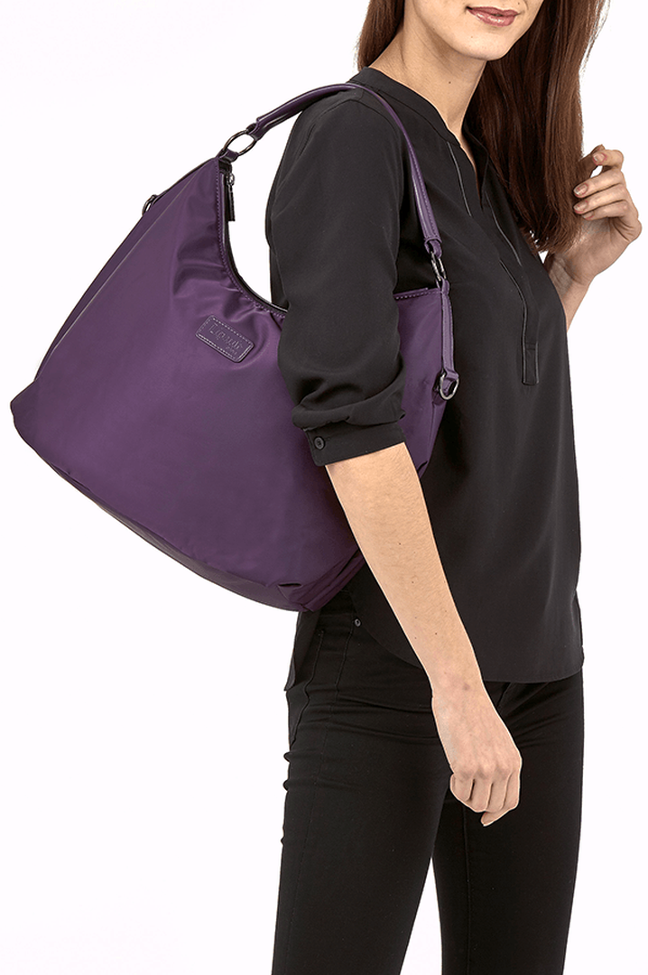 Lady Plume Bolso hobo M Purple | 3