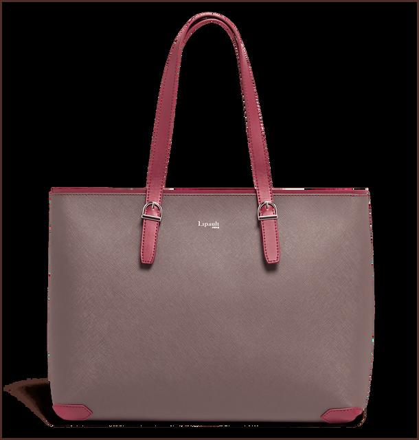 Variation Bolso shopping Grey/Raspberry