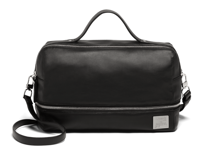 J.P. Gaultier Collab Compil Bolso Boston  Black | 1