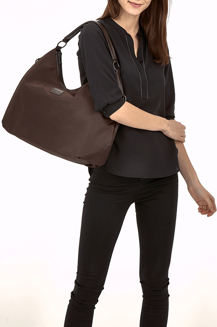 Lady Plume Bolso hobo L Chocolate | 3