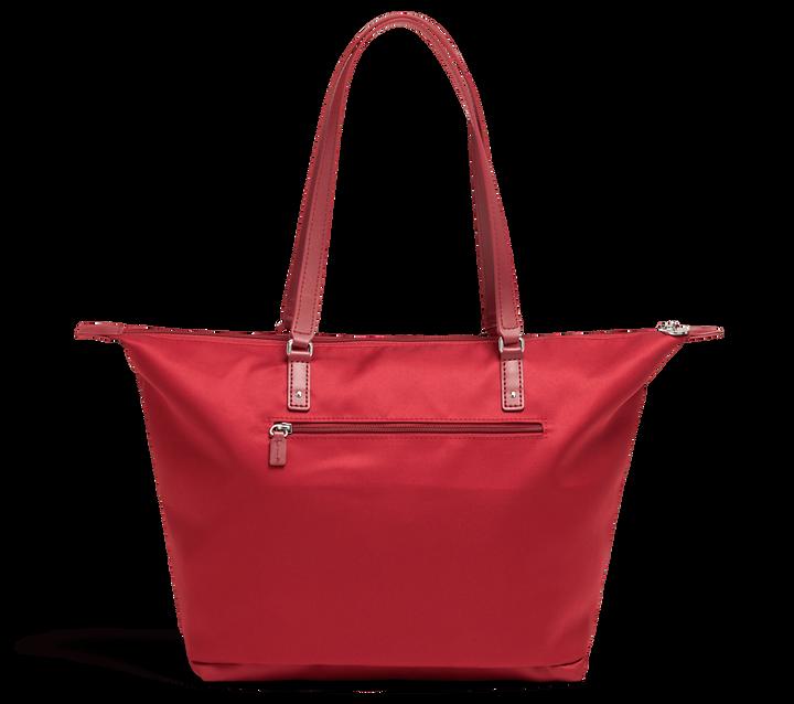Izak Zenou Collab Bolso shopping M Pose/Garnet Red | 2