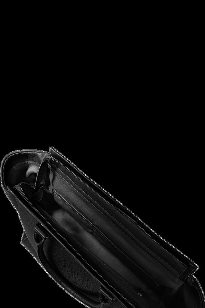 Plume Elegance Bolso Satchel Black | 2