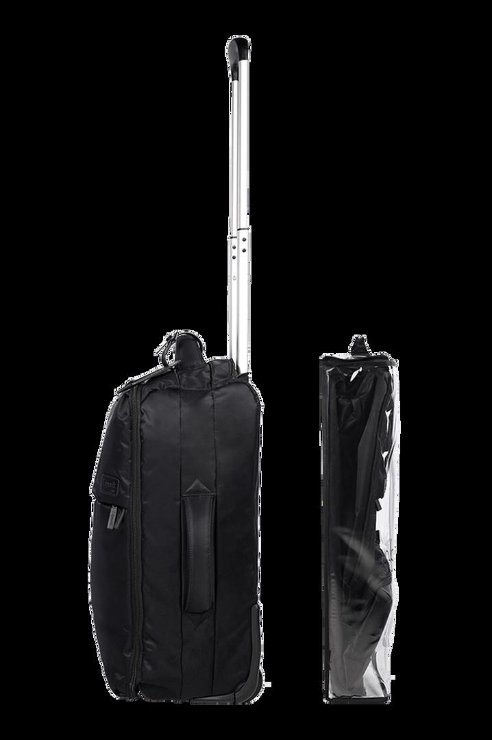 Pliable Maleta Upright (2 ruedas) 55cm Black | 3