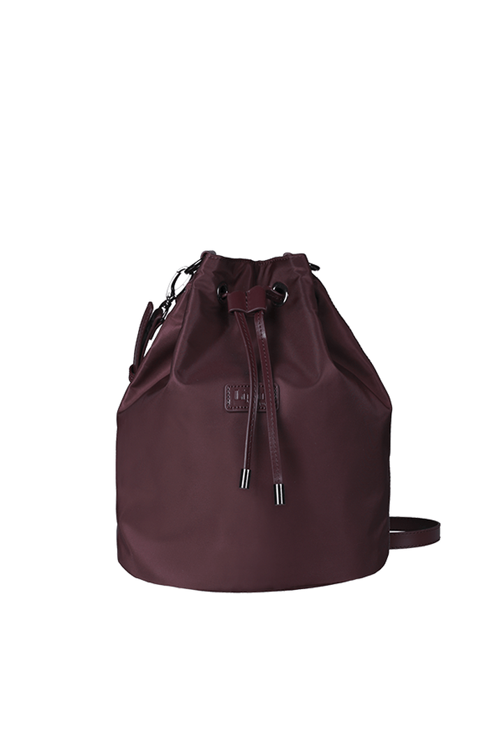 Lady Plume Bolso Bucket S Wine Red   1