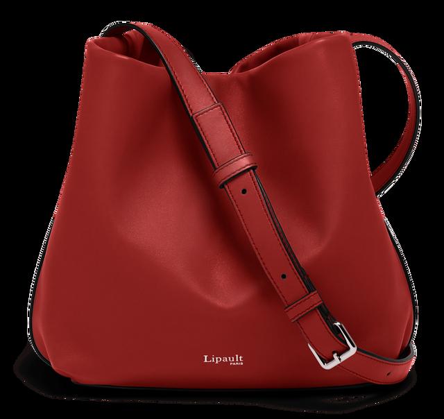 By The Seine Bolso Bucket Cherry Red