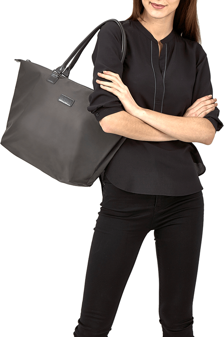 Lady Plume Bolso shopping M Gris Antracita | 3