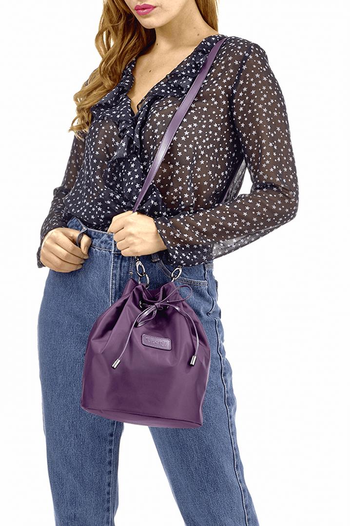 Lady Plume Bolso Bucket S Purple | 3