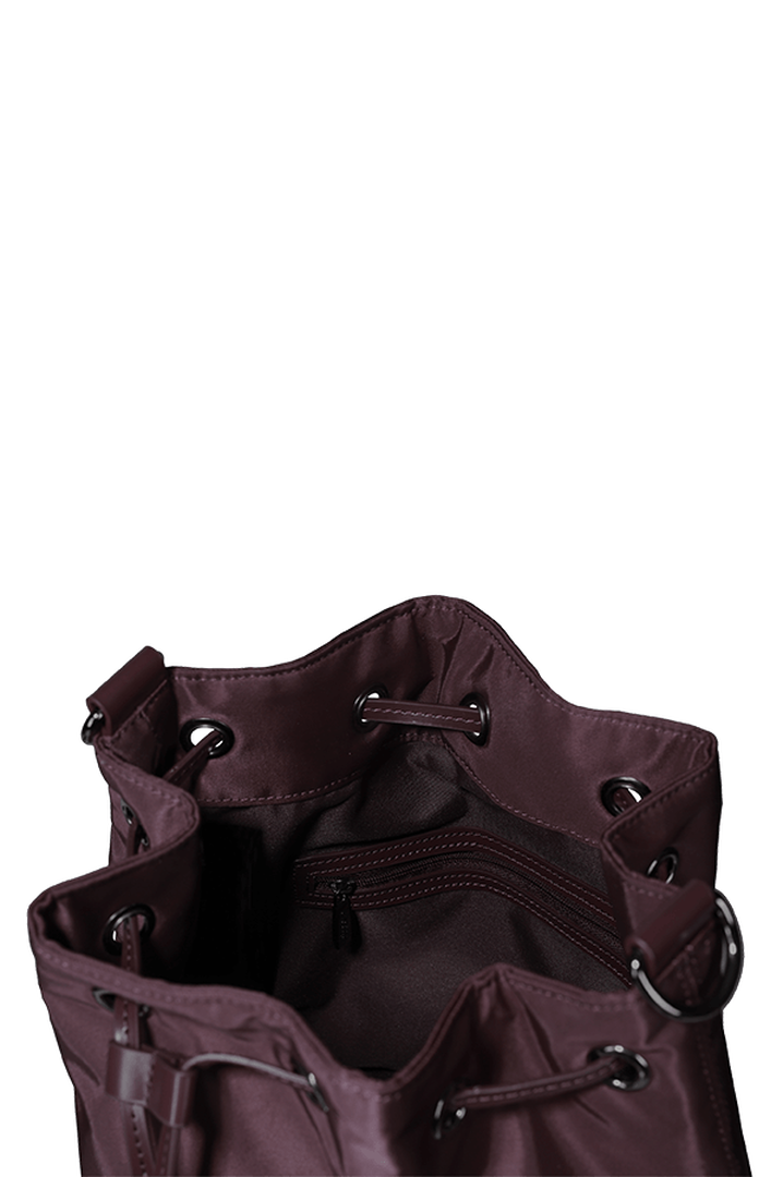 Lady Plume Bolso Bucket S Wine Red   2