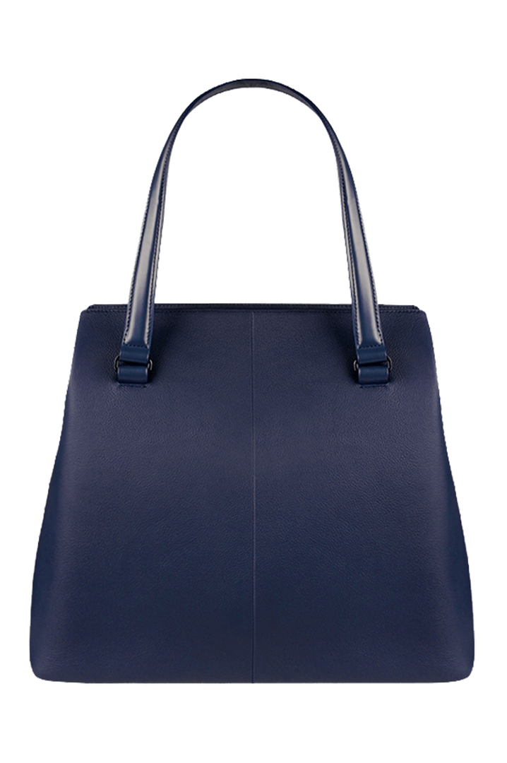 Plume Elegance Bolso shopping L Navy | 2