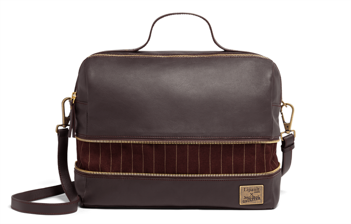 J.P. Gaultier Collab Compil Bolso Boston Burgundy | 5