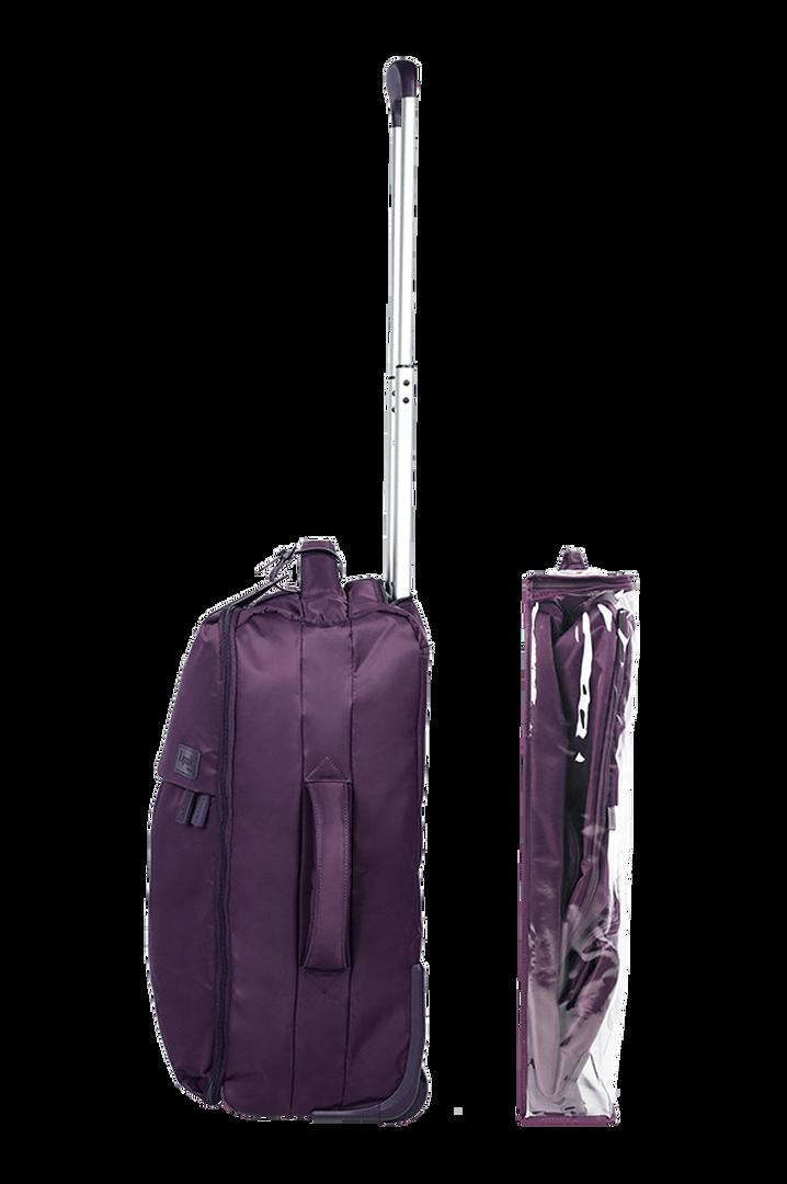 Pliable Maleta Upright (2 ruedas) 55cm Purple | 3