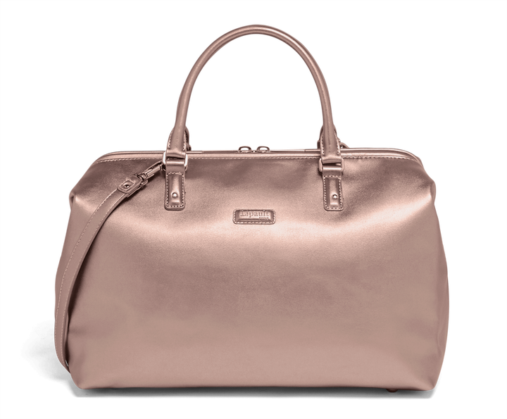 Miss Plume Bolso Bowling M Pink Gold   1