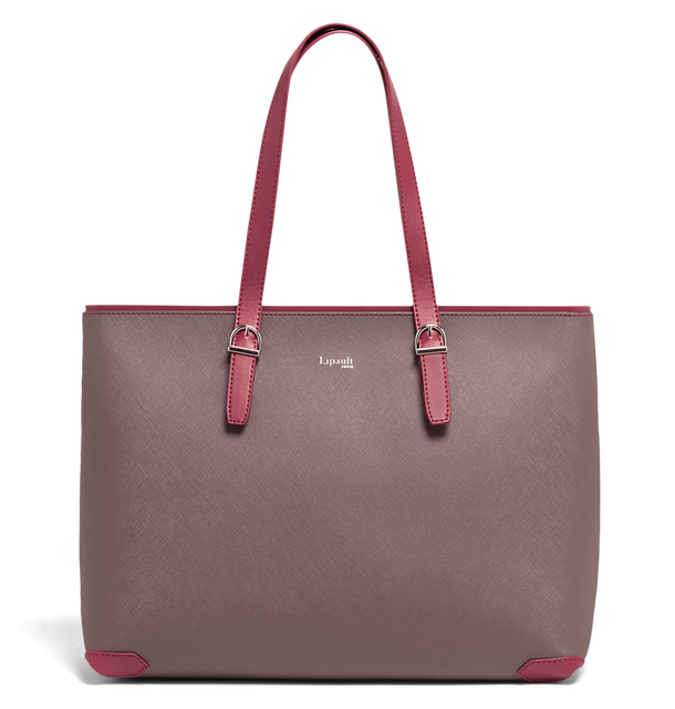 Variation Bolso shopping Grey/Raspberry