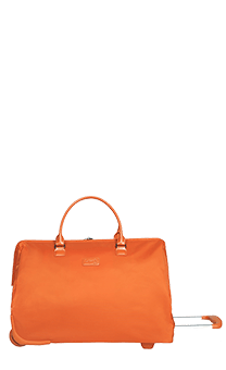Lipault Lady Plume Bolsa Weekend 2 Ruedas Orange FL