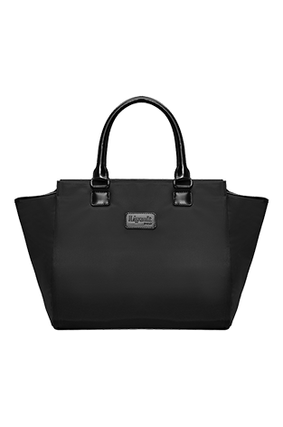 Lipault Lady Plume Satchel Bag M Black