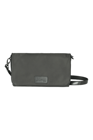 Lipault Lady Plume Clutch bag M Gris Antracita
